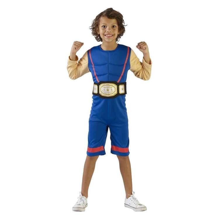 Spartys Wrestler Kids Costume