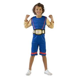 Spartys Wrestler Kids Costume