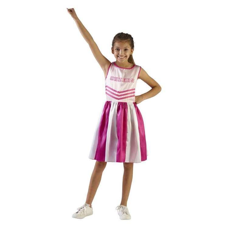 Spartys Cheerleader Kids Costume