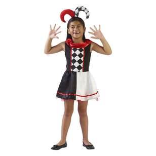 Spartys Jester Kids Costume