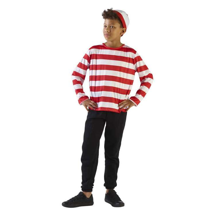 Party Creator Stripy Boy Kid's Costume