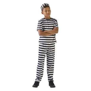 Party Creator Prison Uniform Kid's Costume