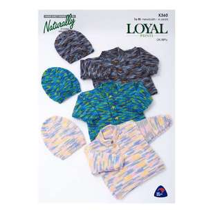 Naturally Loyal 8 Ply Kids Pattern K360