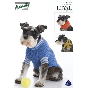 Naturally Loyal 8 Ply Dog Accessories N1417 Pattern Book