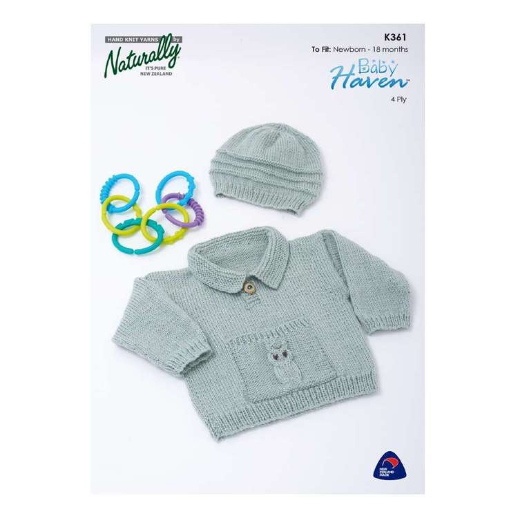 Naturally Baby Haven 4 Ply Kids Pattern K361