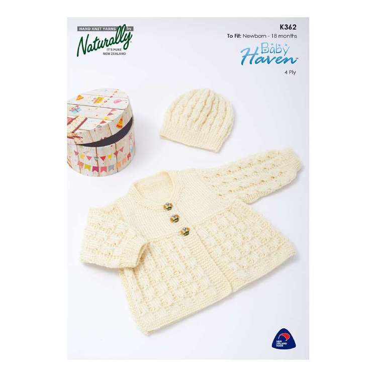 Naturally Baby Haven 4 Ply Kids Pattern K362
