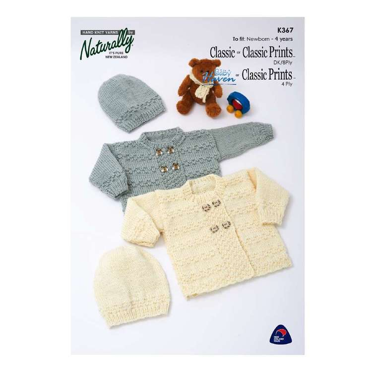 Naturally Baby Haven 4 Ply Kids Pattern K367