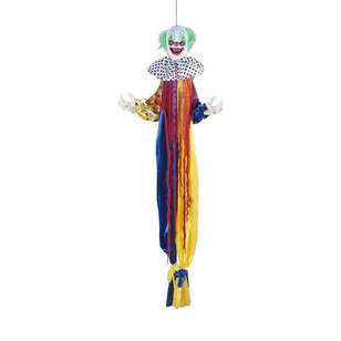 Spooky Hollow Animated Clown Hanging Decoration