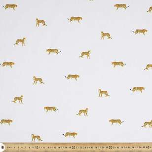 Cheetah Cotton Fabric