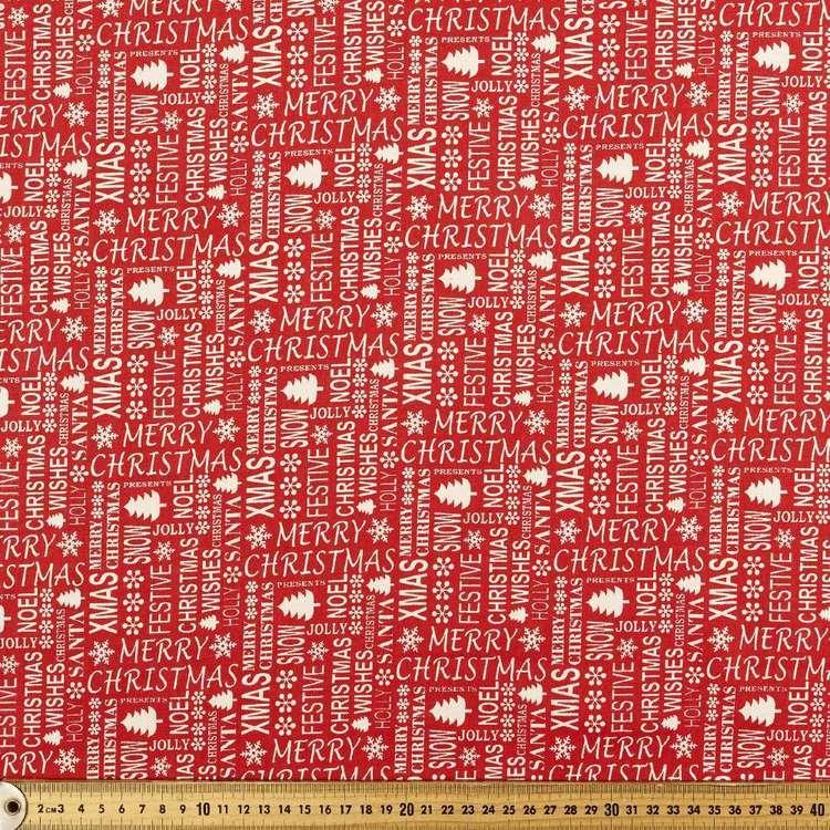 Scandi Festive Cotton Fabric