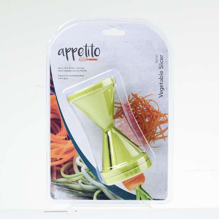 Appetito Spiral Vegetable Slicer