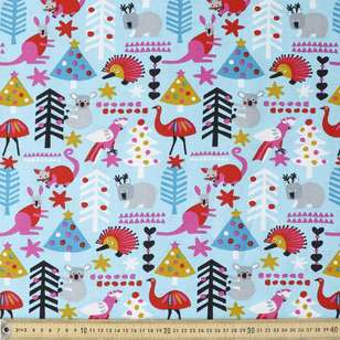 Jocelyn Proust Modern All The Animals Cotton Fabric