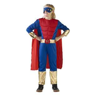 Party Creator Super Hero Dress Kid's Costume