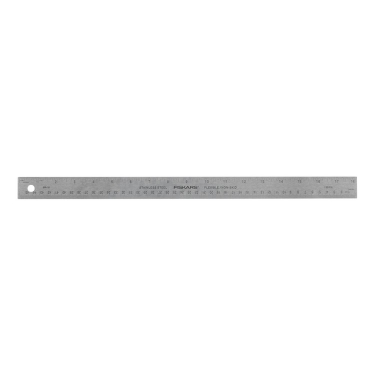 Fiskars DIY Tools Metal Ruler
