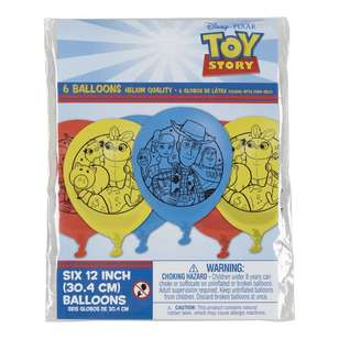 Amscan Toy Story 4 30Cm Latex Balloons