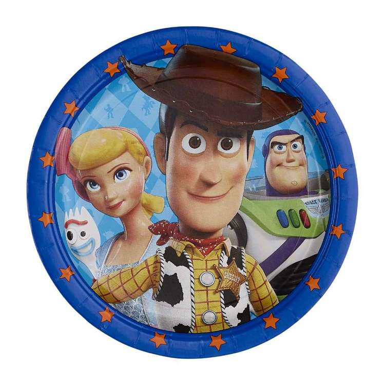 Amscan Toy Story 4 23 cm Round Plates