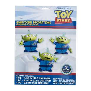 Amscan Toy Story 4 Honeycomb Decorations