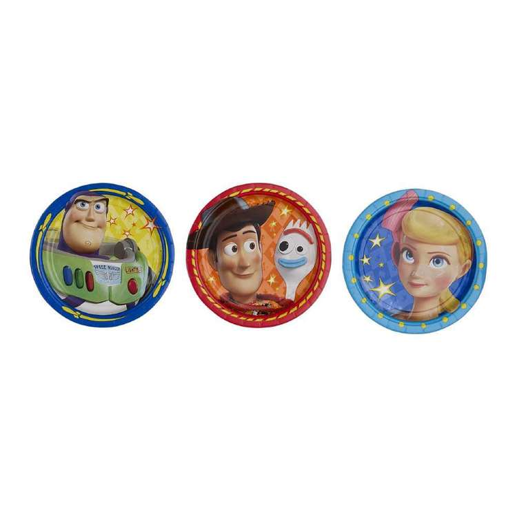 Amscan Toy Story 4 18 cm Round Plates