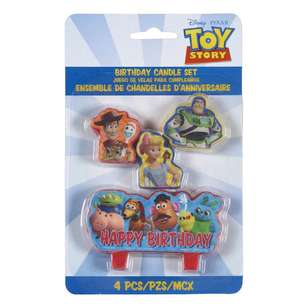 Amscan Toy Story 4 Birthday Candle Set