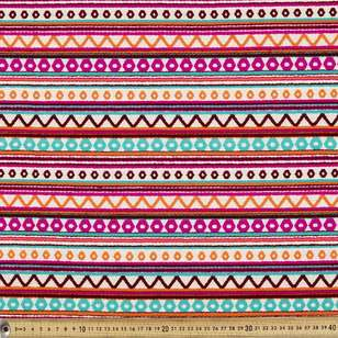 Fusion Stripe Hasina Fabric