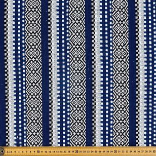Ocean Stripe Hasina Fabric