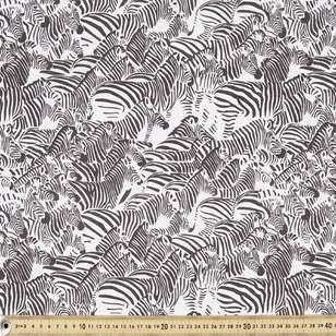 Zebra Printed Cotton Fabric