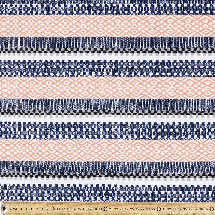 Sunny Stripe Hasina Fabric