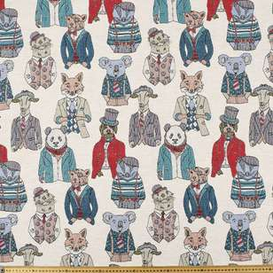 Fancy Animals Tapestry