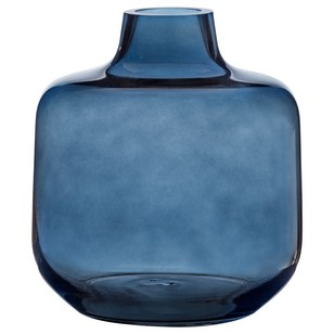Bouclair Modern Nature Square Glass Vase