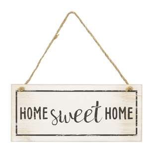 Living Space Home Sweet Home Wall Plaque