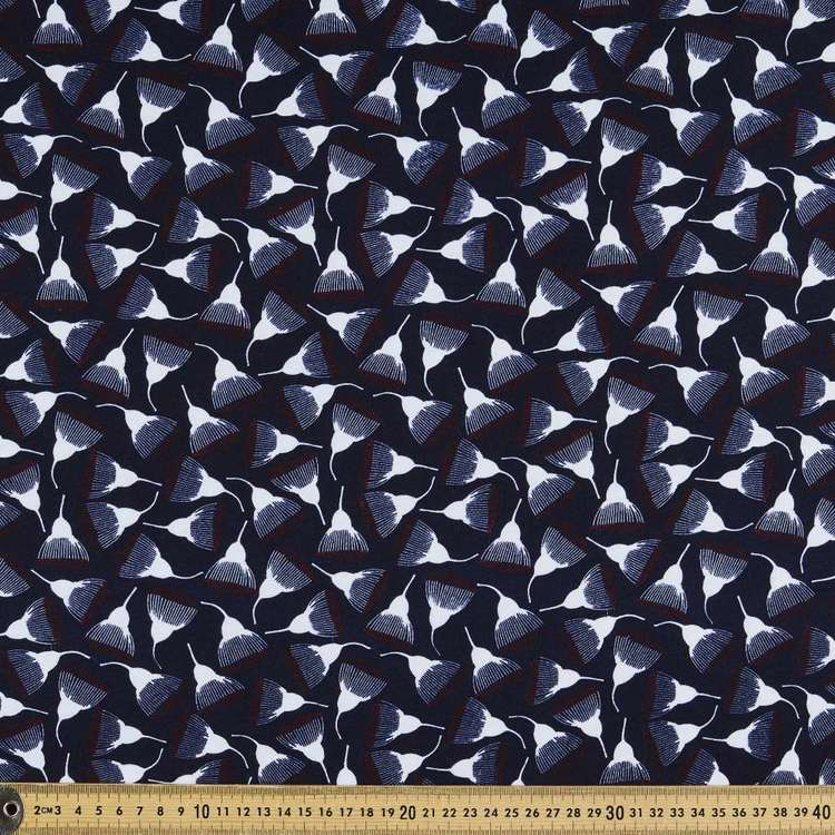 Jocelyn Proust Gum Nut Printed 112 cm Organic Cotton Jersey Fabric