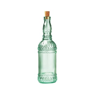 Bormioli Rocco Country Home Assisi Bottle With Cork Lid