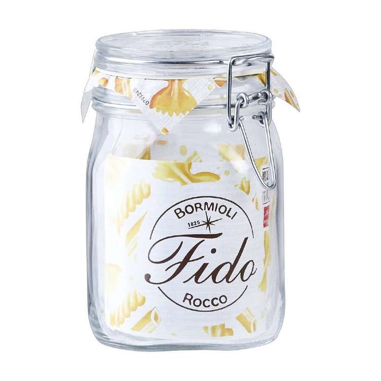 Bormioli Rocco Rococo Fido Jar With Clip Lid