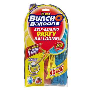 Zuru Bunch O Balloons 24 Pack Red Black and Yellow