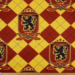 Harry Potter Gryffindor Crest Fabric