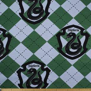 Harry Potter Slytherin Crest Fabric