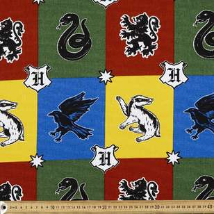 Harry Potter Crests Fabric