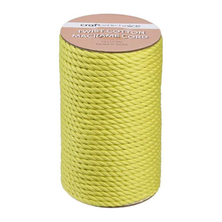 Crafters Choice Macrame Twist Cotton Cord