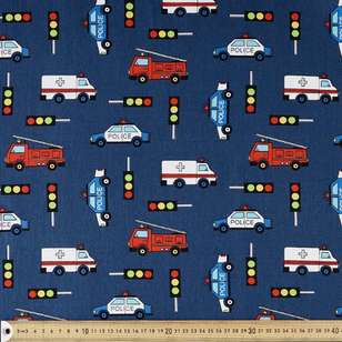 Emergency Printed Montreaux Drill Fabric