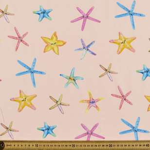 Starfish Digital Printed Organic Cotton Poplin