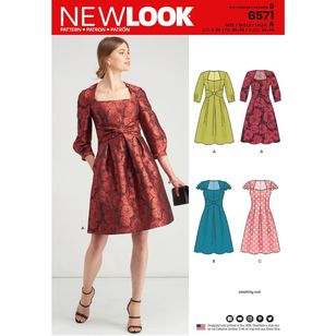 New Look Pattern 6571 Misses' Dresses