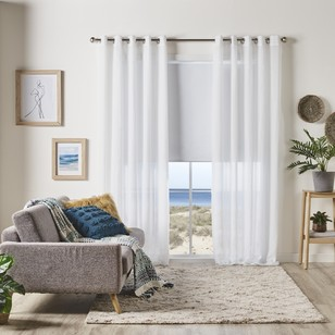 KOO Portsea Eyelet Sheer Curtain