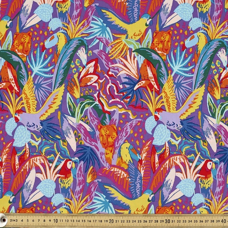 Ellie Whittaker Jungle Fever Fabric