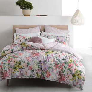 Logan & Mason Liberty Bloom Quilt Cover Set