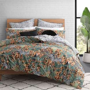 Logan & Mason Zulu Animal Quilt Cover Set