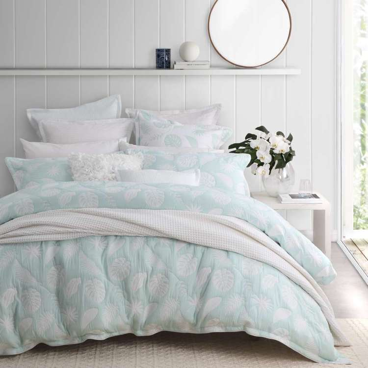Platinum Lani Quilt Cover Set