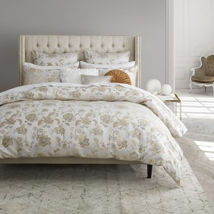 Platinum Oriana Quilt Cover Set