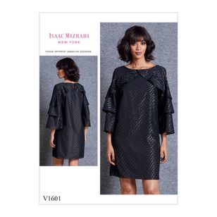 Vogue Pattern V1601 Isaac Mizrahi Misses' Dress