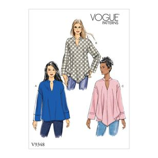 Vogue Pattern V9348 Misses' Top