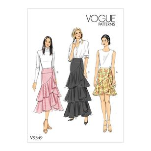 Vogue Pattern V9349 Misses' Skirt